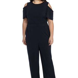 New Navy Jumpsuit- The Limited